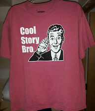 "Brand New Urban Pipeline ""Cool Story Bro"" T-Shirt sz XL Orig $24 Free Shipping"