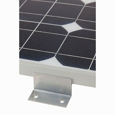 Solar Panel Universal Individual Mounting Bracket Aluminium