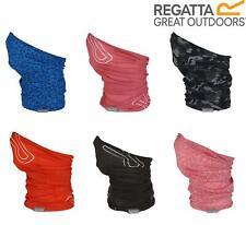 Regatta Active Adults Multitube Face Scarf Mask Bandana Snood Buff Mens Womens