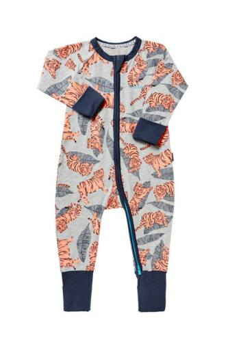 BONDS LE TIGRE ZIP WONDERSUIT BNWT SZ 2 d88,e33