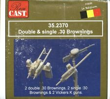 Resicast 1:35 Double and Single .30 cal Browning & Vickers K MG's #352370