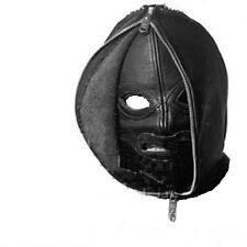 Fetish Bondage Gimp Double Hood Sensory Deprivation Hood Double Face Hood zb001