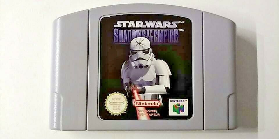 NINTENDO 64 Star Wars shadows of the empire - - Occasion StarWars