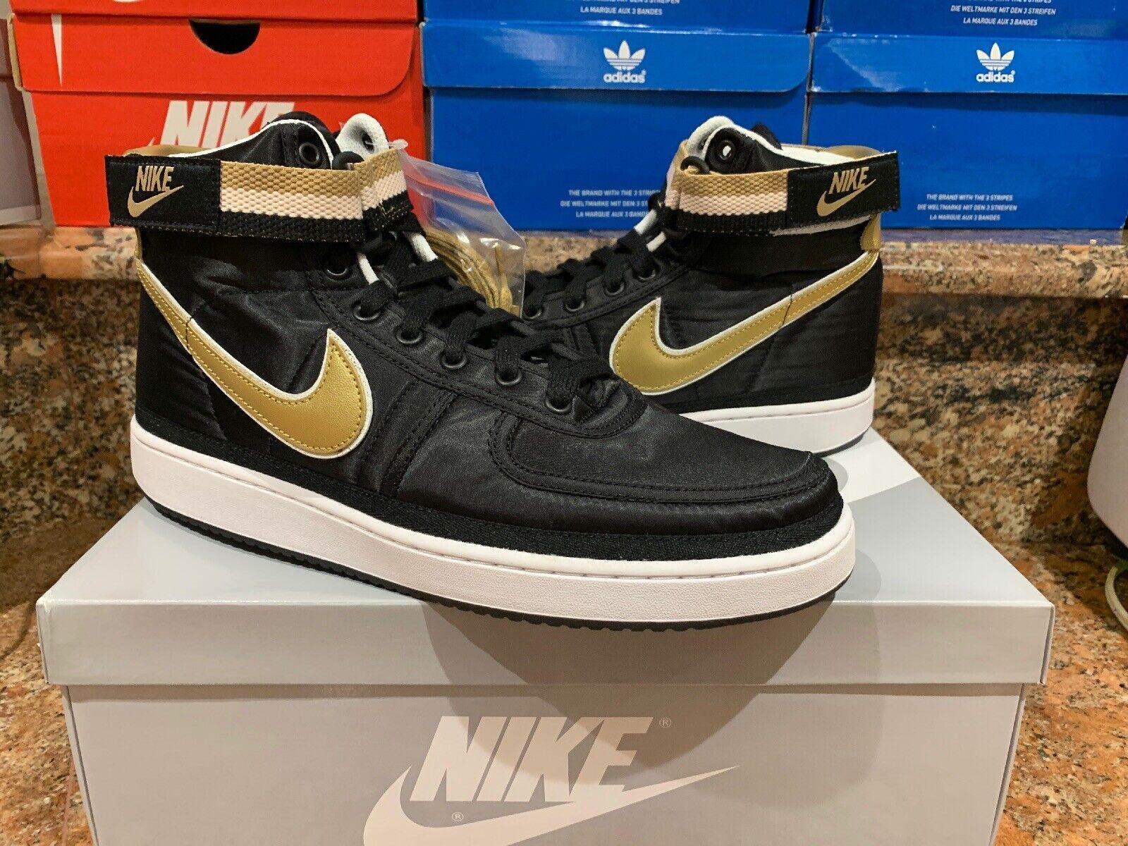 Nike Vandal High Supreme QS Black Metallic Metallic Metallic gold AH8652-002 2f5fc5