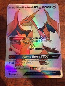 Lesen-Beschreibung-Pokemon-GX-Ex-Mega-Orica-M-Glurak-X-Full-Art-Read-Below