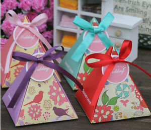 52pcs-Trigonal-Pyramidal-034-Sweet-Love-034-Wedding-Party-Favors-Candy-Box-Gift-Boxes