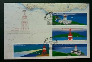 SJ-Portugal-Lighthouse-1996-Ocean-Sea-Building-Architecture-Marine-Map-FDC