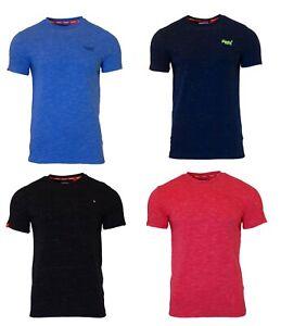 Superdry-Mens-Orange-Label-Crew-Neck-Short-Sleeve-T-Shirt-Black-Navy-Blue-Red