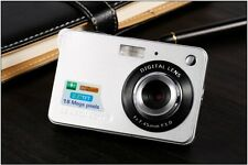 Mini Digital Camera HD 8x Zoom Photo 18MP Video Recording Silver FREE SHIPPING
