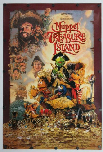 Muppet Treasure Island 1996 Double Sided Original Movie Poster 27