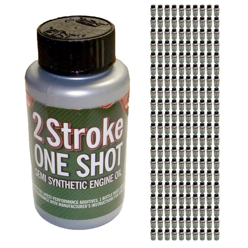 De 2 Tiempos el Aceite One Shot X 100 50 1 Mix Ideal Para Cortar Sierra