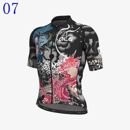 2021 Mens Team Cycling Jersey Bicycle Uniform Short Sleeve Bike Shirt Racing Top