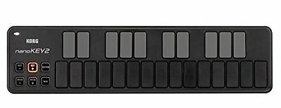 KORG nanoKEY2 Slim-Line 25-key USB-MIDI Keyboard Black Japan Import