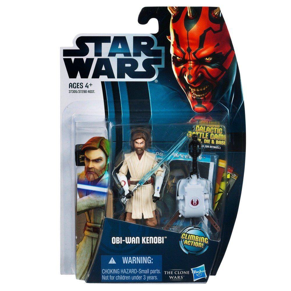 Star Wars 2012 Clone Wars Action Figure CW No. 12 ObiWan Kenobi