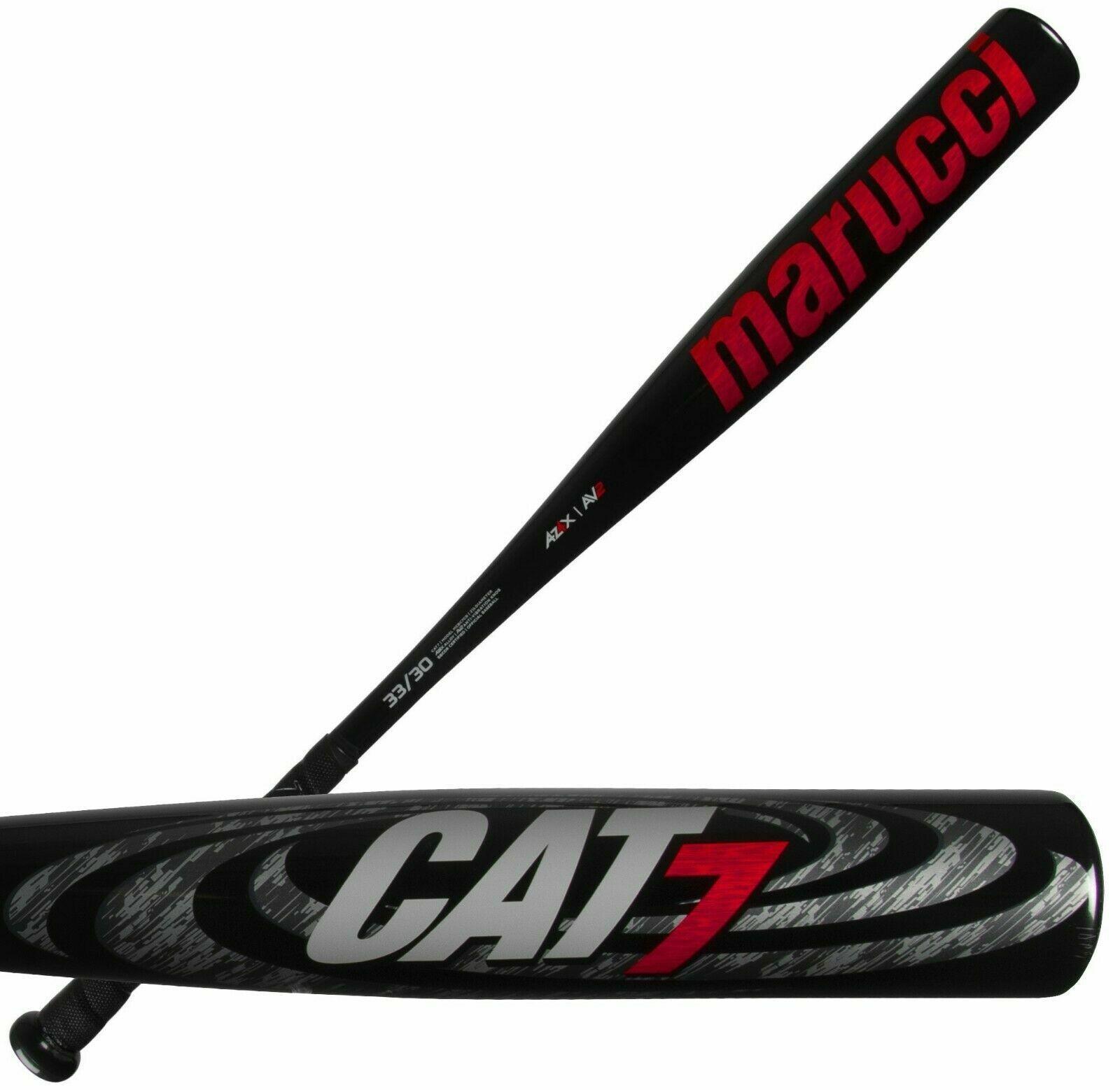 2020 Marucci Cat 7 Negro le -3 31  28 Oz Adulto  Bbcor MCBC 7CB bate de béisbol