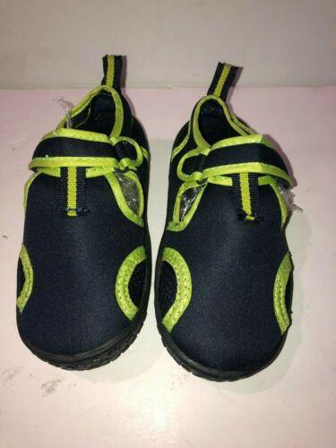 Harper Canyon Lil Splash Size 12 Water Shoe Toddler /& Little Kid Navy Lime #4103