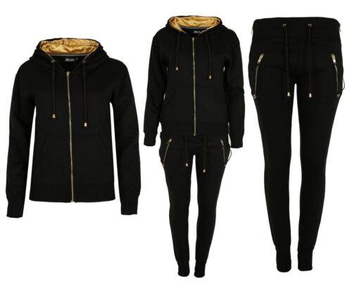 Womens Tracksuit Ladies Melange Loungewear Set Sweatshirt Joggers Tracksuit Pant