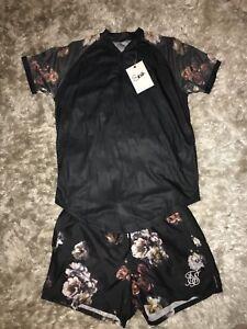 sik-silk-Top-Resort-Shirt-Lord-Brand-New-Size-Medium-M-Just-Top