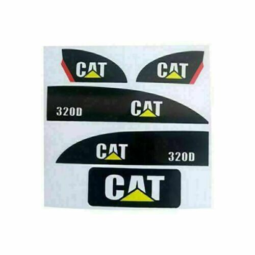 1Set Sticker Decal for Huina 550 15 channels Metal Excavator Amewi Decora