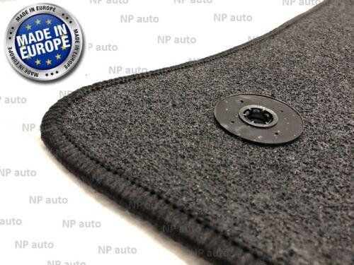 NEW LHD SET FOR TOYOTA AVENSIS 03-09 BLACK TAILORED CAR FLOOR MATS VELOUR CARPET