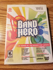 Band Hero Nintendo Wii Complete with Manual