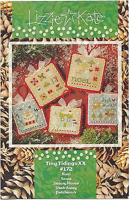 Lizzie Kate Its a  Jingle Out There    cross stitch pattern  LKS90   Christmas