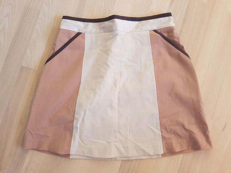 Lårkort nederdel, str. 40, H&M