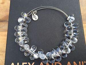Rare Alex And Ani Crystal Clear Jupiter