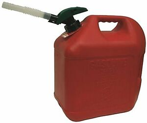 MIDWEST CAN AUTO SHUT OFF GAS CAN, 5 GALLON