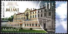 MOLDOVA 2017-05 EUROPA: Castles. Architecture. Wine, MNH