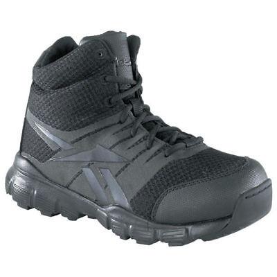 "Reebok RB4507 Men/'s Dauntless 5/"" Athletic Hiker Black Soft Toe All Sizes Shoes"