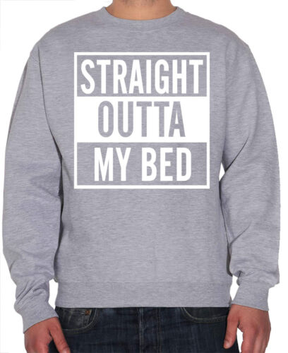 Lazy Napping Sleep Compton Youth and Mens Sweatshirt Straight Outta My Bed