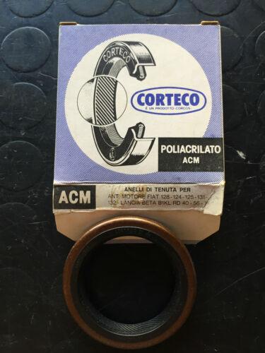 Paraolio anteriore albero motore fiat 124 125 128 131..lancia Front engine oil *