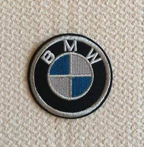 Patch-Toppa-Brand-Logo-Auto-BMW-Stemma-Marchio-Ricamata-Termoadesiva-6cm