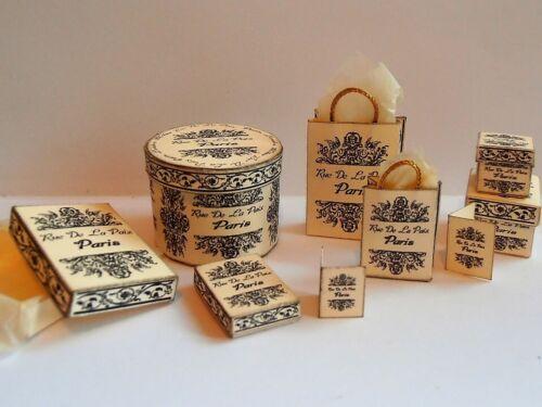 Dollhouse Miniature printie KIT-vendita!!! VINTAGE RUE DE LA PAIX