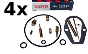 Honda CB550four SuperSport Keyster Vergaser-Reparatursatz 4 Kits /'75-/'79 Bj