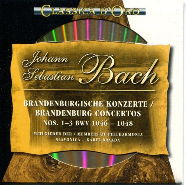 CD - Johann Sebastian Bach – Brandenburgische Konzerte Nos. 1 – 3