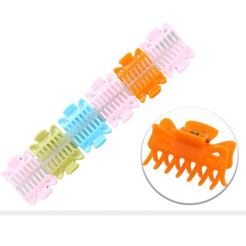 12pcs 4cm Mini Claw Clamp Clip 7 Teeth Hair Clip Hairpins Women Hair Accessories