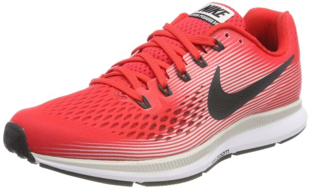online store d4175 eb803 NIKE Air Zoom Pegasus 34 Mens Running Shoes (8 D(M) US, Speed  Red/Anthracite-...