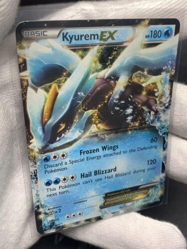 2012 ** KYUREM EX ** BW37 Black Star Legendary Treasures Ultra Rare Pokemon TCG