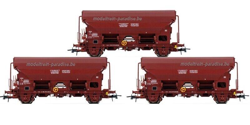 76176 ... ROCO ... NMBS   SNCB   Set 3 Roldakwagens Tds    tp IV-V