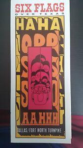 RARE-1968-Six-Flags-Over-Texas-Amusement-Theme-Park-Brochure-RARE