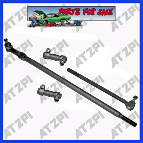 New Front Steering Rebuild Kit Tie Rod End Linkages For 85-94 Ford F-250 4WD