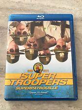 Super Troopers BLU-RAY (Like New, Original, No Copy) Broken Lizard's