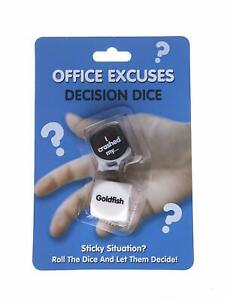 Oficina-Excuses-Decision-Dado-Rollo-para-Crear-un-Novedad-Regalos-Calcetin