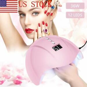 US-36W-12-Leds-USB-Nail-Lamp-UV-Sun-Light-Nail-Gel-Dryer-Curing-Polish-Machine