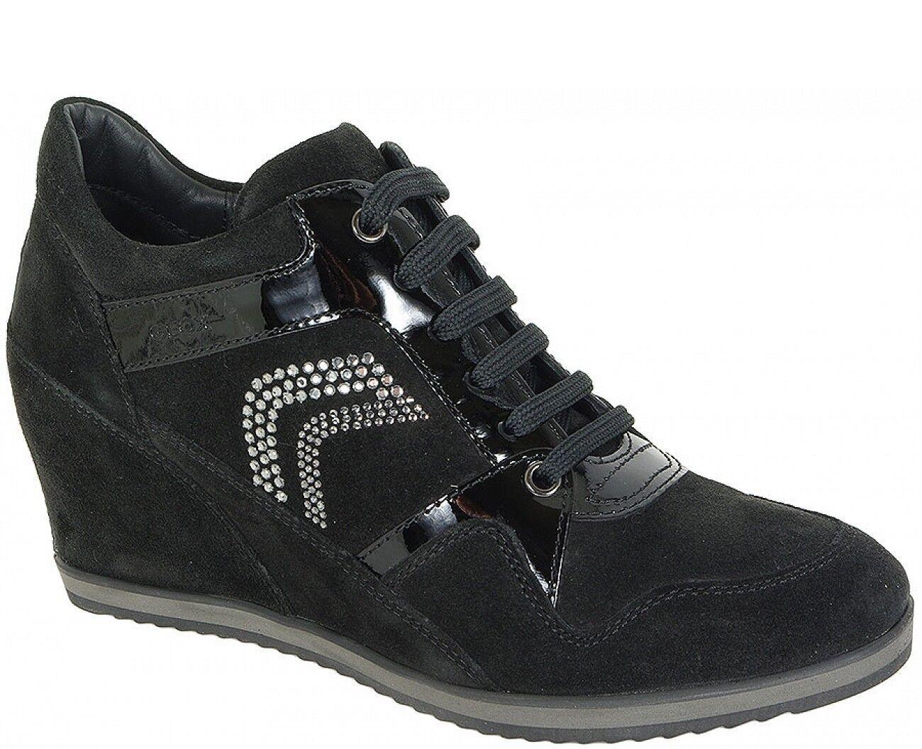 Geox sale sneakers ilusión pat a Ante + pat ilusión lea Negro d44a2266c9999 0b00be