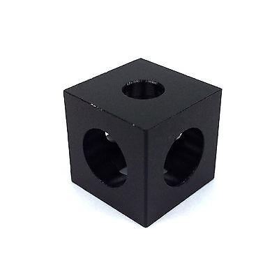 Three Way Cube Corner - V Slot Aluminium Linear Extrusion 3D Printer RepRap CNC