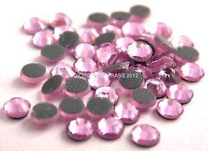 STRASS-MC-Stone-collection-100pz-SS20-5mm-Light-Rose-rosa-chiaro-termoadesivi