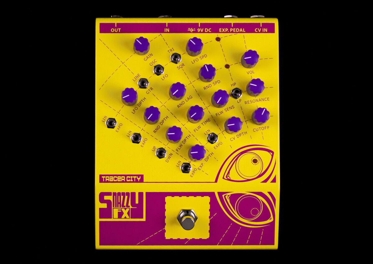 Snazzy FX Tracer City GUITAR EFFECTS PEDAL BEST OFFER